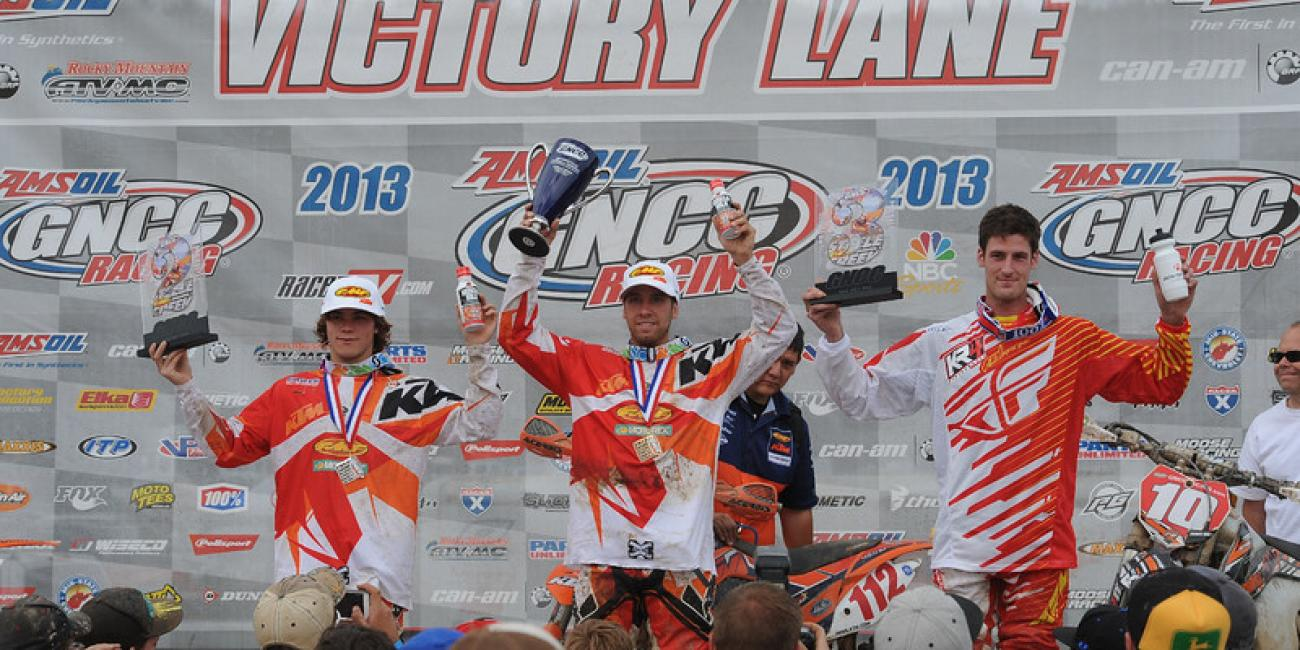 Mullins Takes the Victory at the FMF Steele Creek GNCC