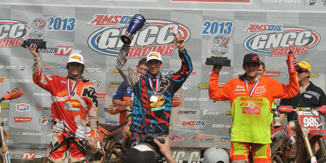 Mullins Takes the Win at Dunlop Limestone 100 GNCC