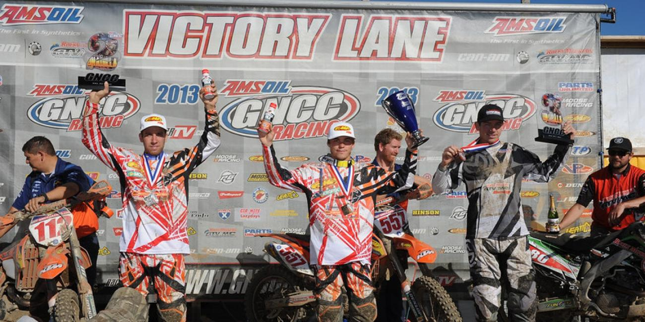 Kailub Russell Makes it Four-in-a-Row at Can-Am Unadilla GNCC