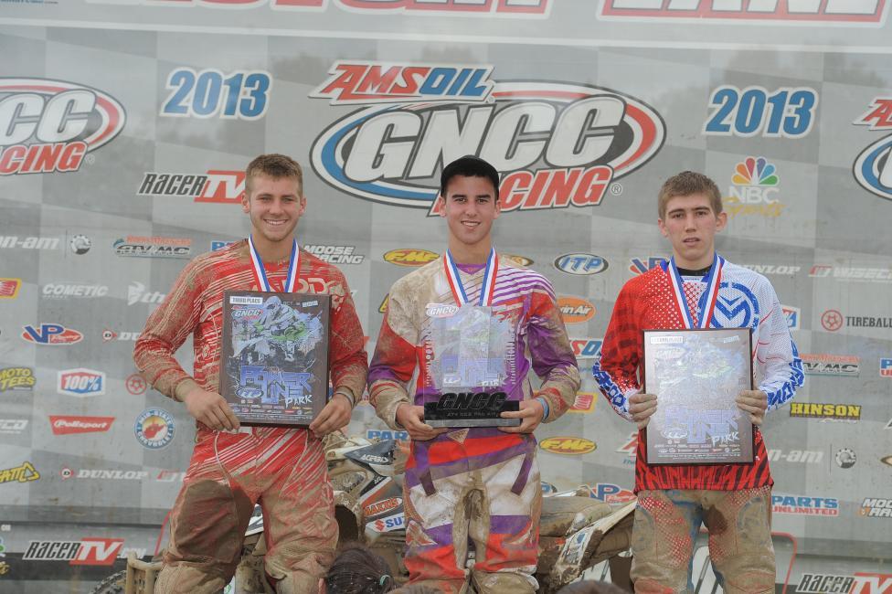 GNCC XC2 podium