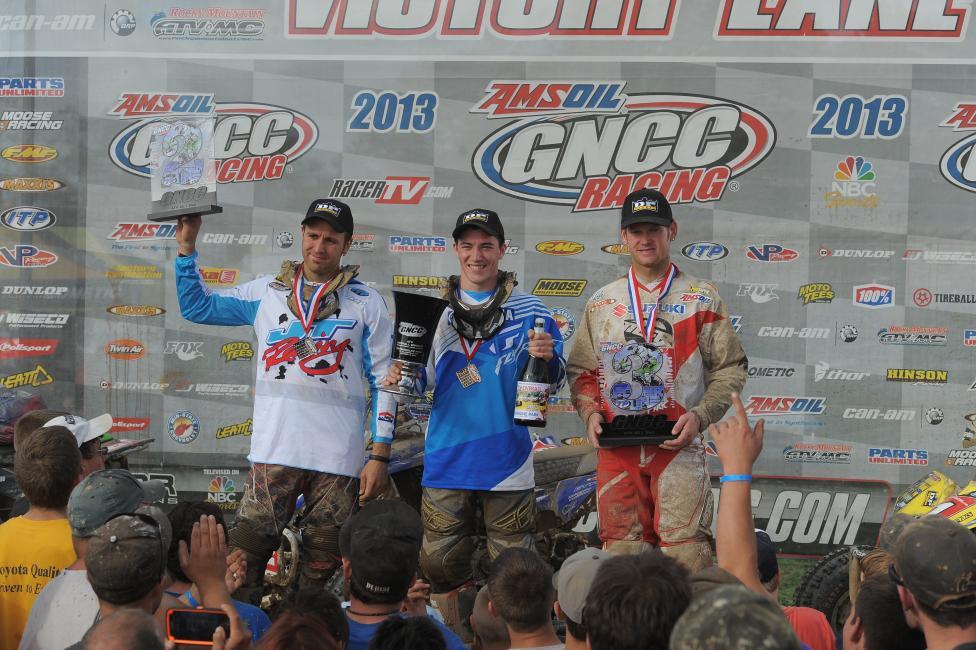 GNCC XC1 podium