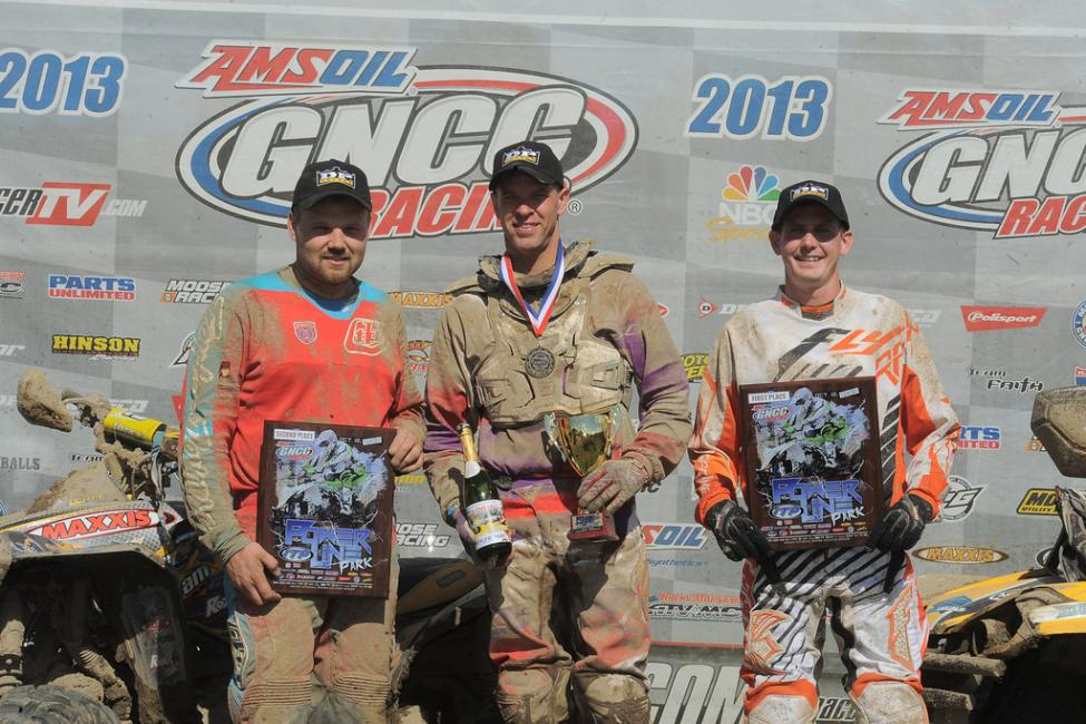GNCC 4x4 Overall podium