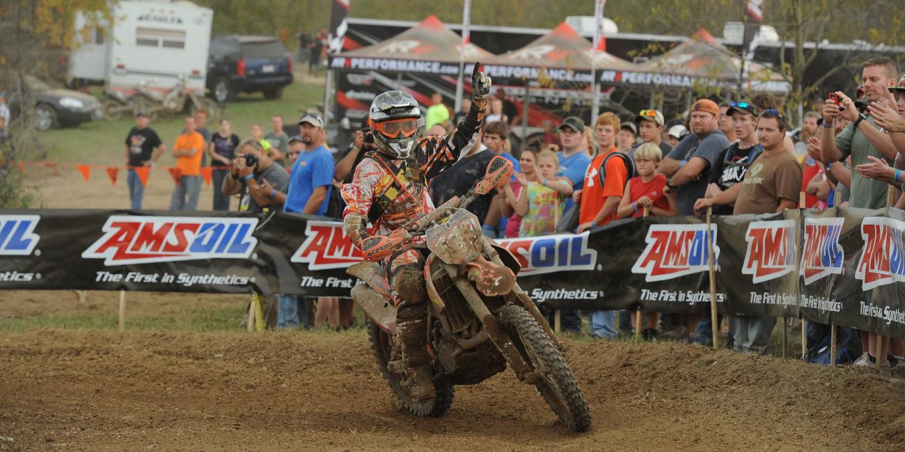 Mullins Tightens XC1 Points Gap With Overall Victory at Powerline Park GNCC