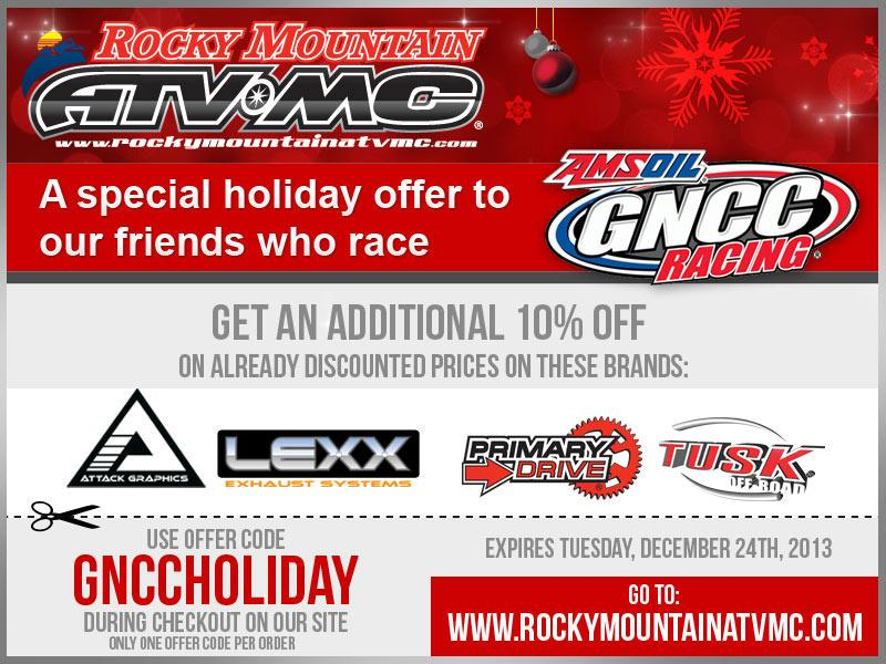 Rocky mountain atv coupon code 2018