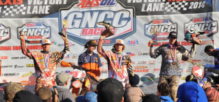 Russell Secures Second Straight Victory at Round 3 of the 2014 AMSOIL GNCC