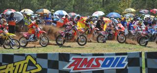 Russell Captures Third Straight Victory at VP Racing Fuels Big Buck GNCC