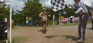 Kailub Russell Wins the 7th Annual AMSOIL Snowshoe GNCC