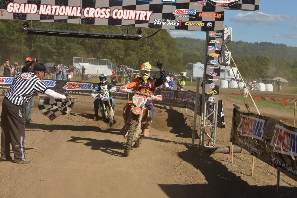 Russell wins Unadilla GNCC