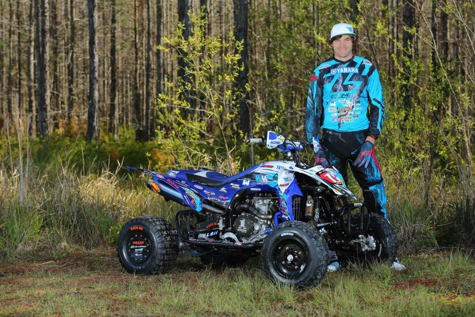 ... defend his AMA Pro ATV Motocross Championship aboard Yamaha for 2015