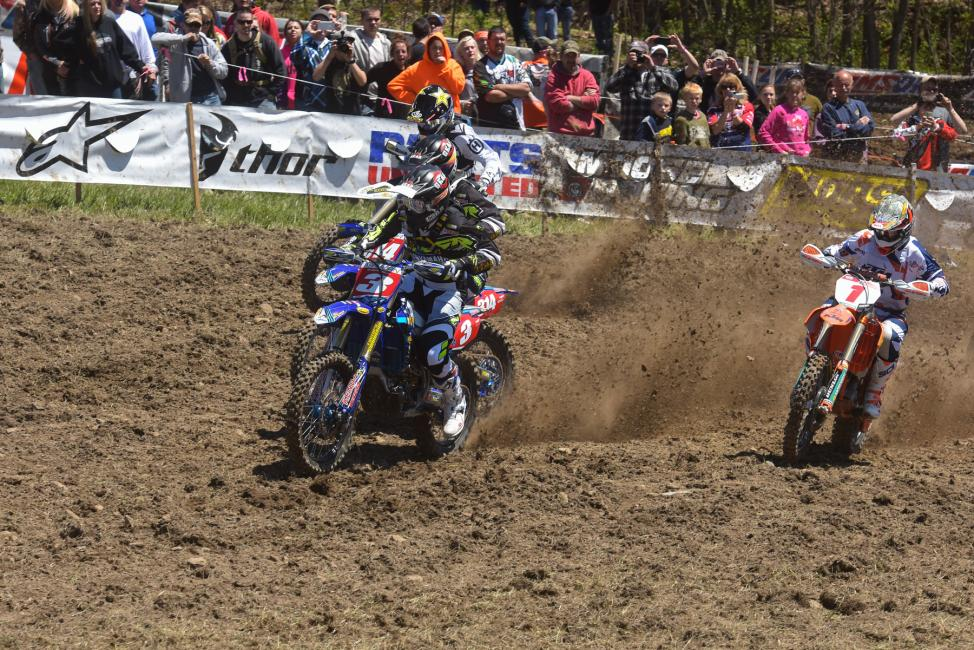 Jordan Ashburn would get to the line first, claiming the $250 All Balls Racing Holeshot AwardPhoto: Ken Hill
