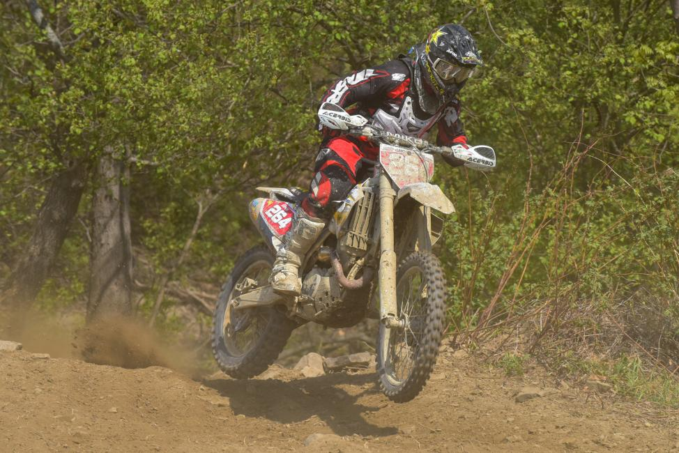 Ryan Sipes had his best finish of the season, rounding out the podium in New York with a third place finishPhoto: Ken Hill