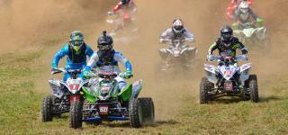N-Fab AmPro Yamaha Teammates Sweep XC1 and XC2 at Parts Unlimited Unadilla GNCC