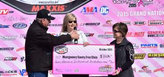 AMSOIL Ironman GNCC Raises Over $8,000 For Breast Cancer Awareness