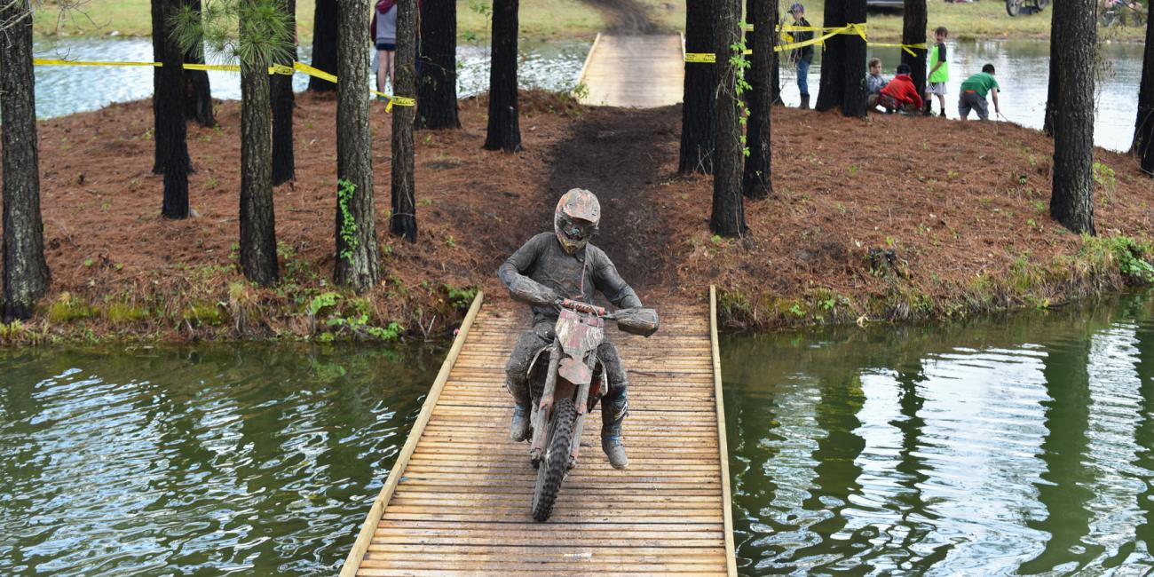 Kailub Russell Wins Inaugural CST Tires Camp Coker Bullet GNCC