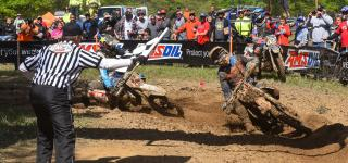 Russell Makes Last Minute Pass for Limestone 100 GNCC Overall Win