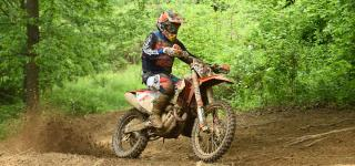 Russell Strives to Earn Sixth Consecutive Win at Dunlop Tomahawk GNCC