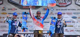 Adam McGill Scores Big at the AMSOIL Snowshoe GNCC