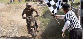 Kailub Russell Tops AMSOIL Snowshoe GNCC