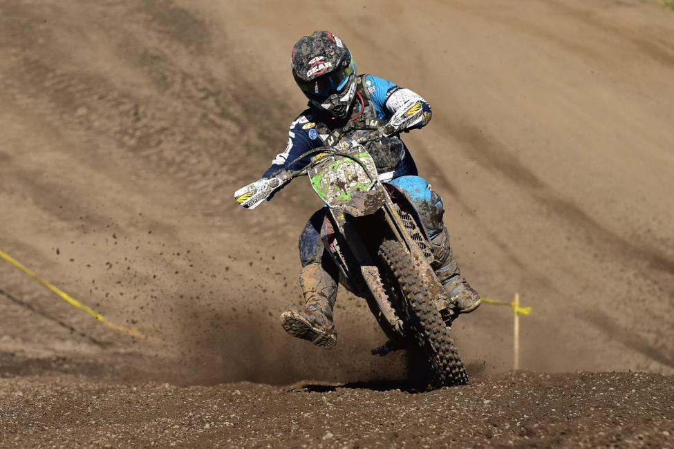 Josh Toth captured his first XC2 Pro Lites win aboard his new ride.Photo: Ken Hill