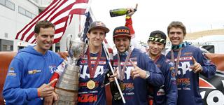 U.S. World Trophy Team Makes History by Winning the International Six Days Enduro for the First Time