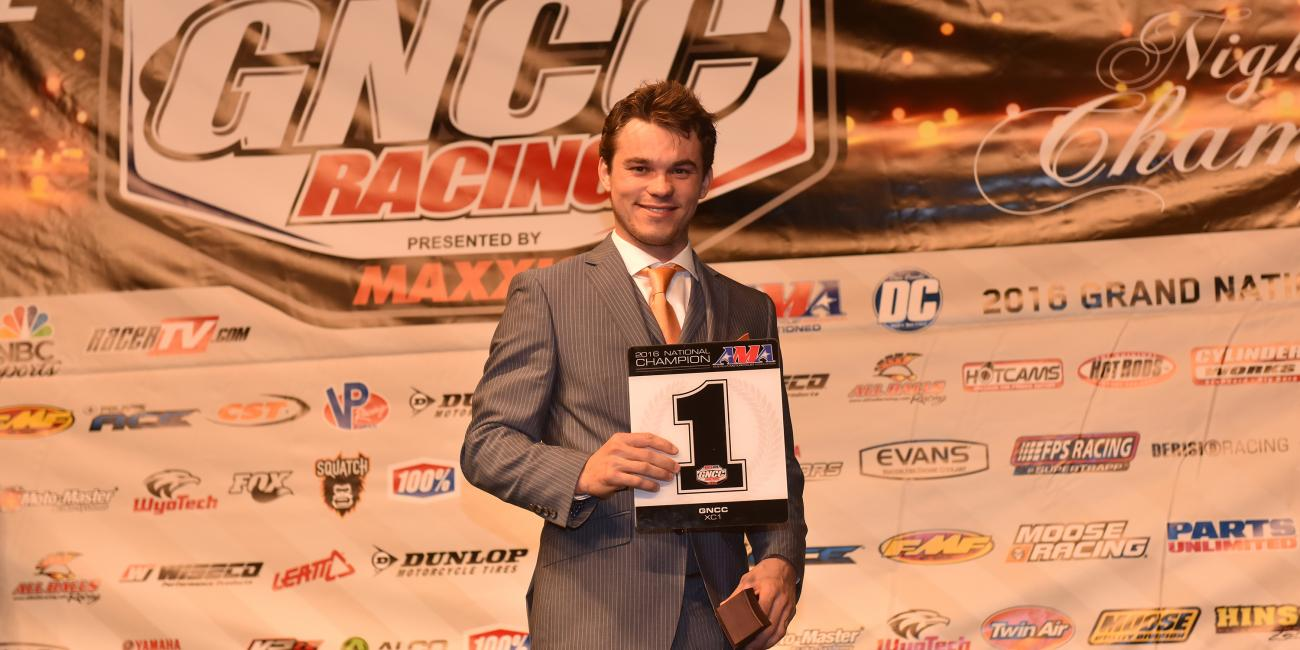 GNCC Recognizes Top Racers and Sponsors at 2016 Awards Banquet