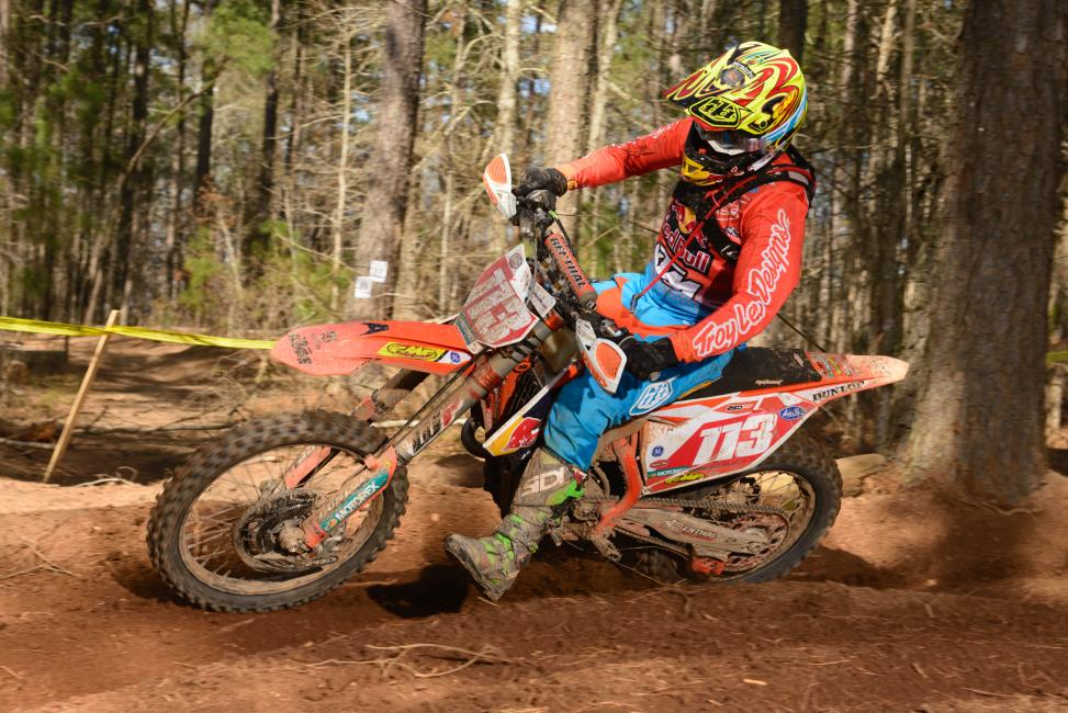 Russell Bobbitt will be racing the full GNCC series in 2017. Photo: Ken Hill