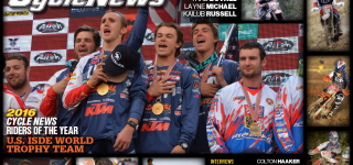 Cycle News Names ISDE U.S. World Trophy Team 2016 Riders of the Year