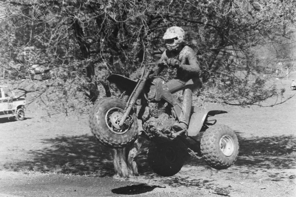 How about a trike airing it out at the 1987 Spring Fireball GNCC?!