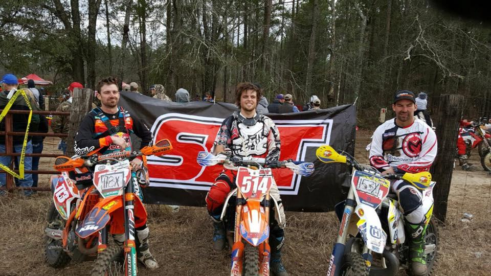 Steward Baylor took the win at last weekend's Burnt Gin Hare Scramble ahead of Russell Bobbitt and Andrew Delong!