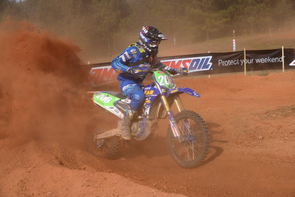 Josh Toth kicked off the new season by taking home gold in the XC2 250 Pro class.