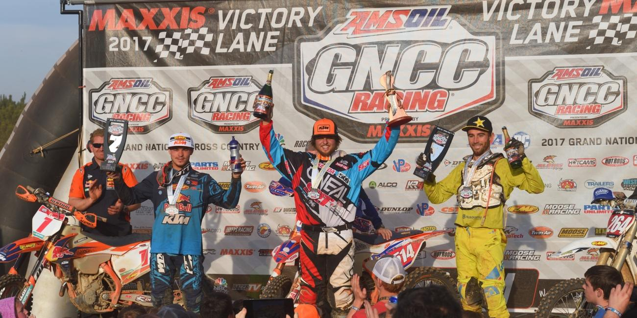 Steward Baylor Takes First Career Win at VP Racing Fuels Big Buck GNCC