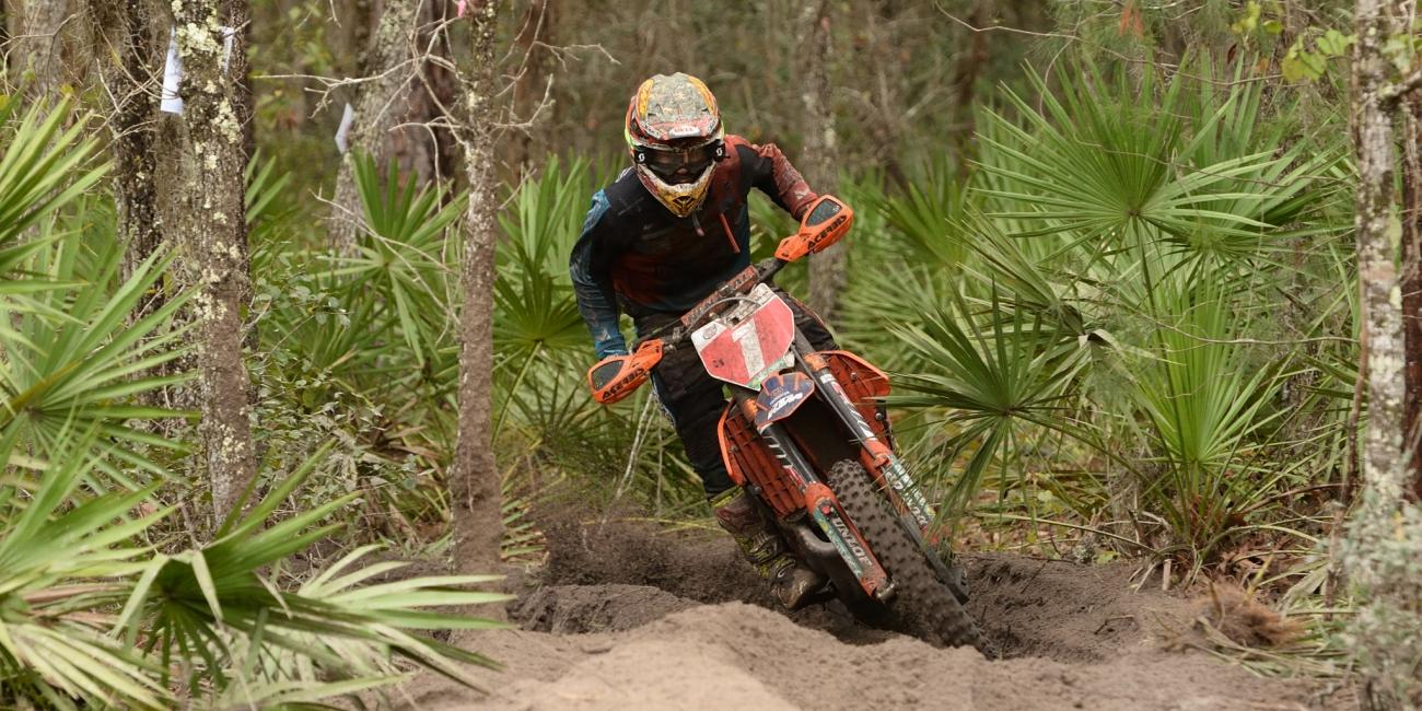 Kailub Russell Rises to the Top at the Moose Racing Wild Boar GNCC
