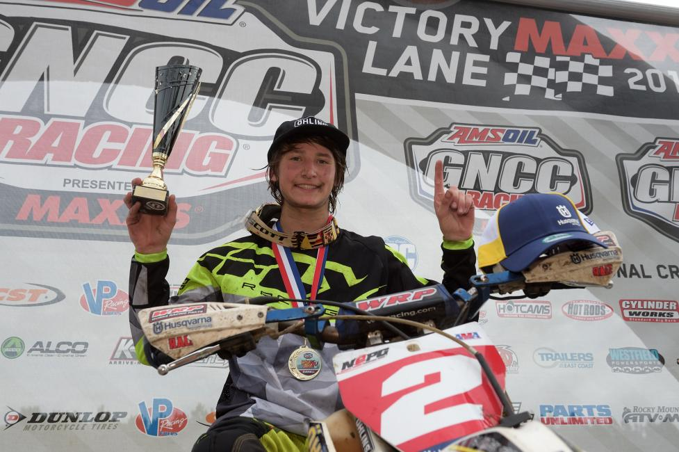 Zack Davidson secured the overall youth win, followed by Ryder Leblond and Michael Beeler Jr.