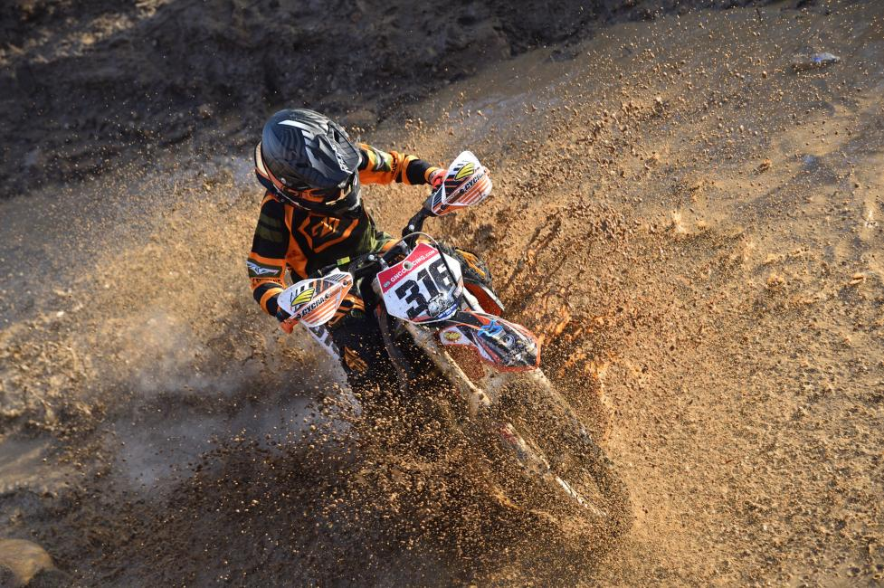 Some of the riders made quite a splash at the FMF Steele Creek.
