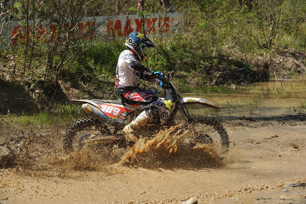 Thad Duvall continues to be a front runner as the season nears the halfway mark. After running with Kailub Russell at the past few rounds, Duvall knows he has the speed and ability to take the overall win at the CST Tires Camp Coker Bullet GNCC.
