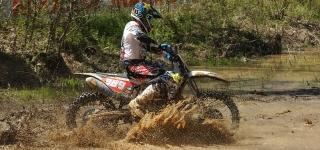 Thad Duvall Remains on the Hunt to Stop Kailub Russell's Success At the CST Tires Camp Coker GNCC