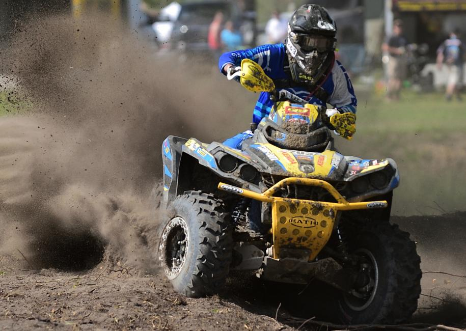 Bryan Buckhannon, an 8-time GNCC champion, notched his first victory of 2017 with the 4x4 Pro class win at Camp Coker.