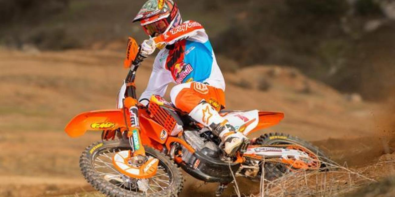 kailub russell to miss the remainder of the ama national