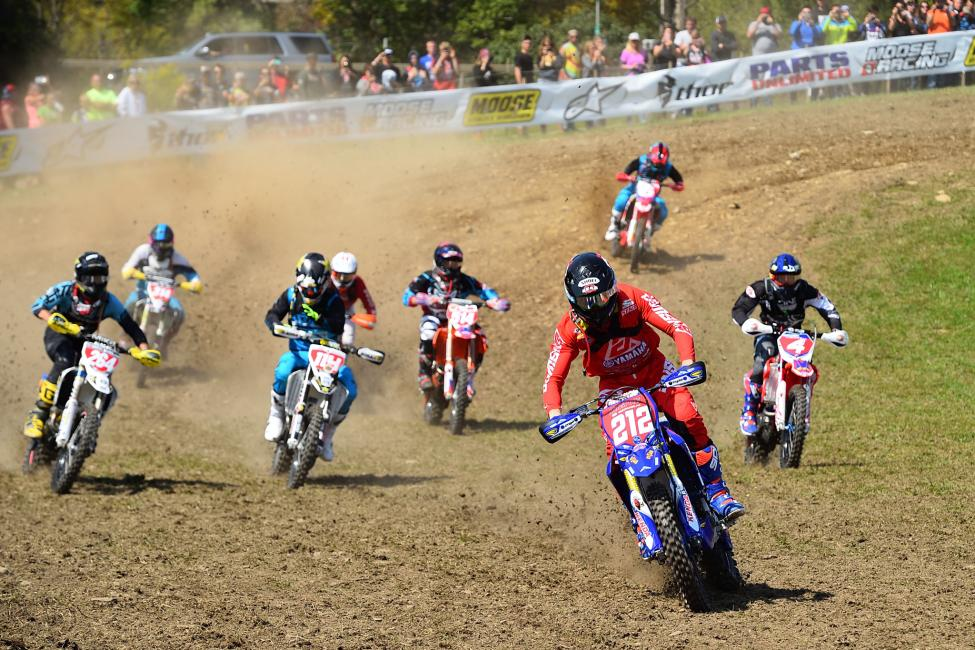 Ricky Russell took home the $250 All Balls Racing Holeshot Award.