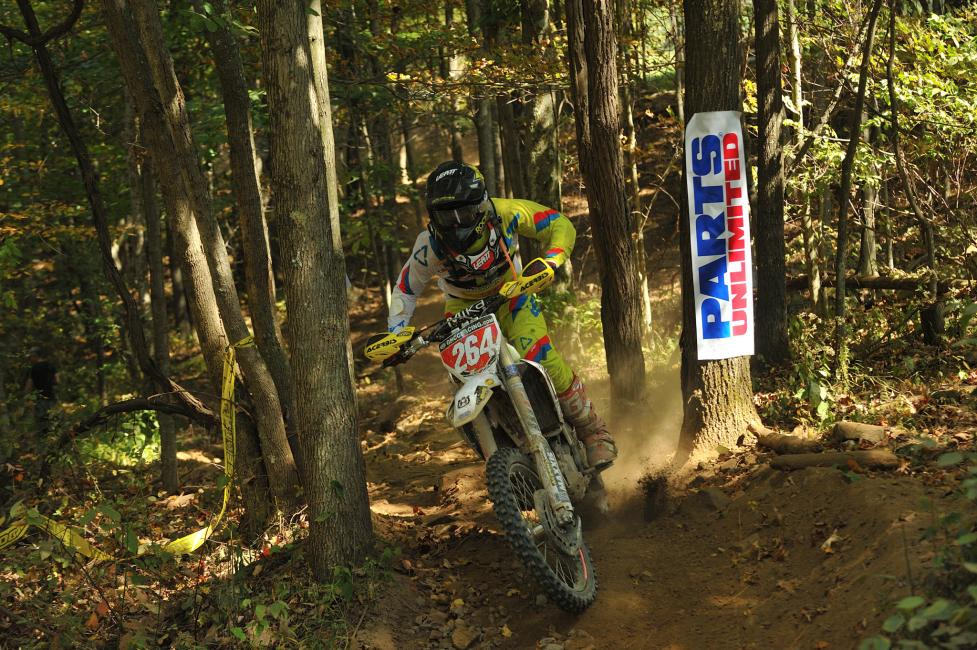 Ryan Sipes lead every lap from start to finish, winning his first-ever GNCC in a commanding fashion.