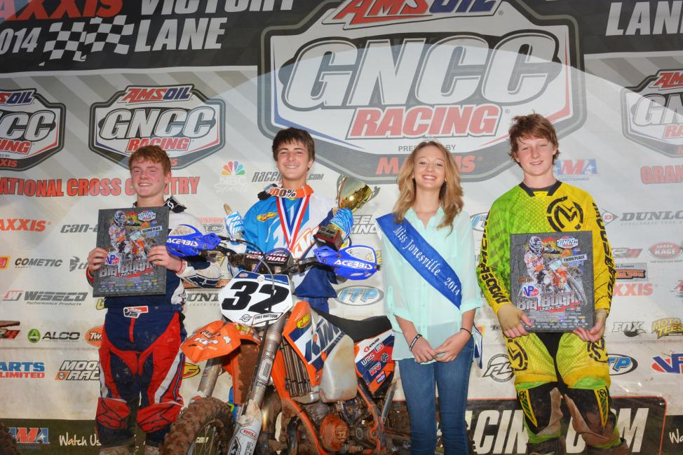 Youth podium: Thurman, Mattison, Godwin