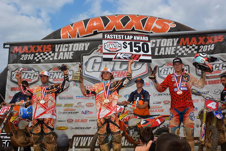 Mullins, Russell and Strang rounded out the overall results at Big Buck