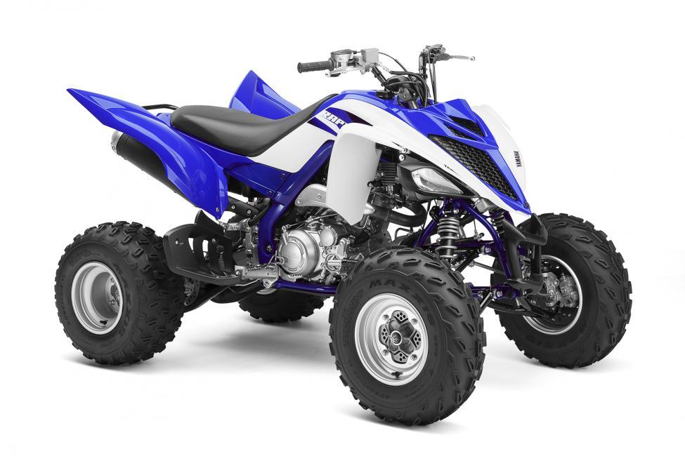 White Yamaha Raptor