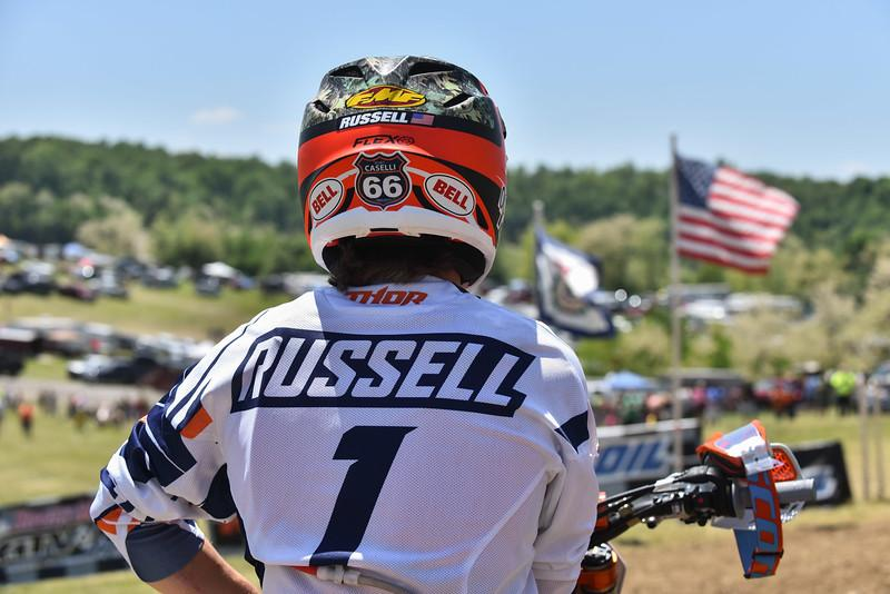 Kailub Russell will attempt to earn the number one plate again this year. Photo: Ken Hill