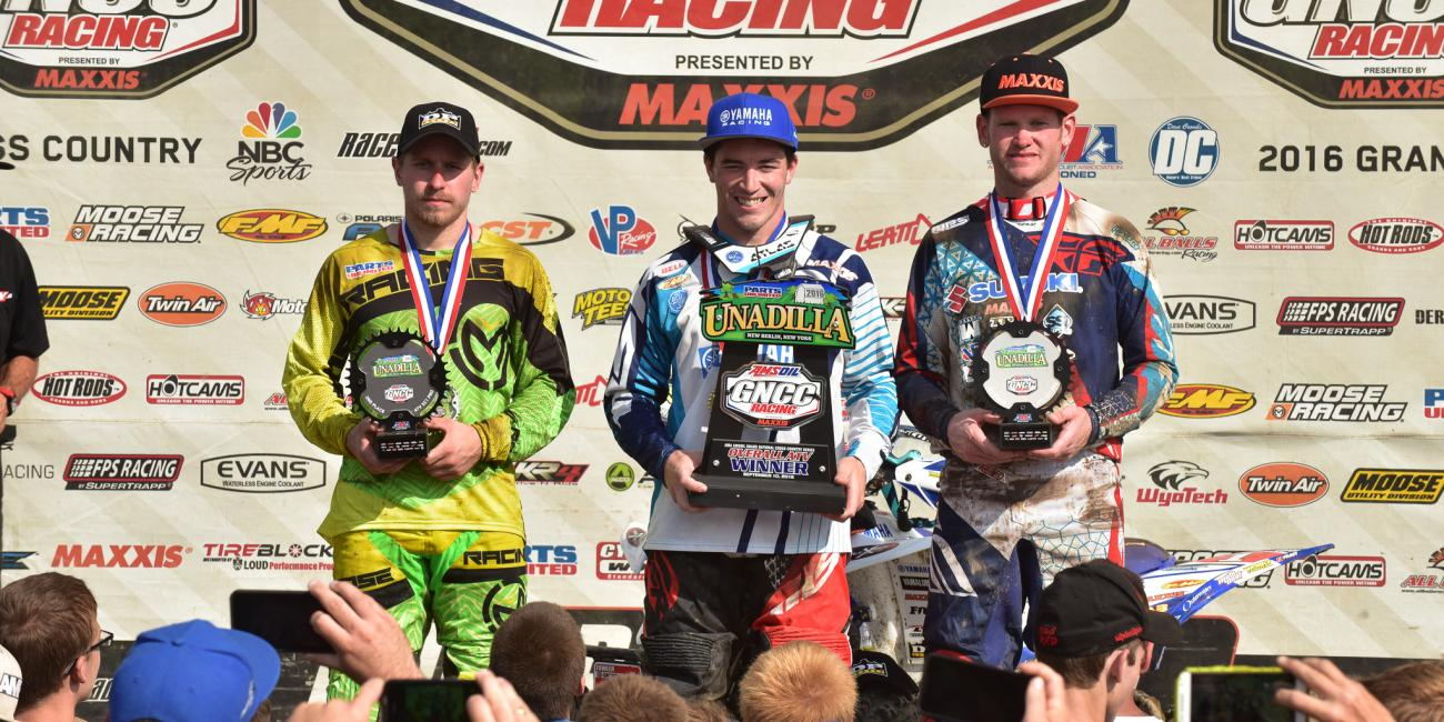 Walker Fowler Continues to Reel in National Championship with Parts Unlimited Unadilla GNCC Overall Win