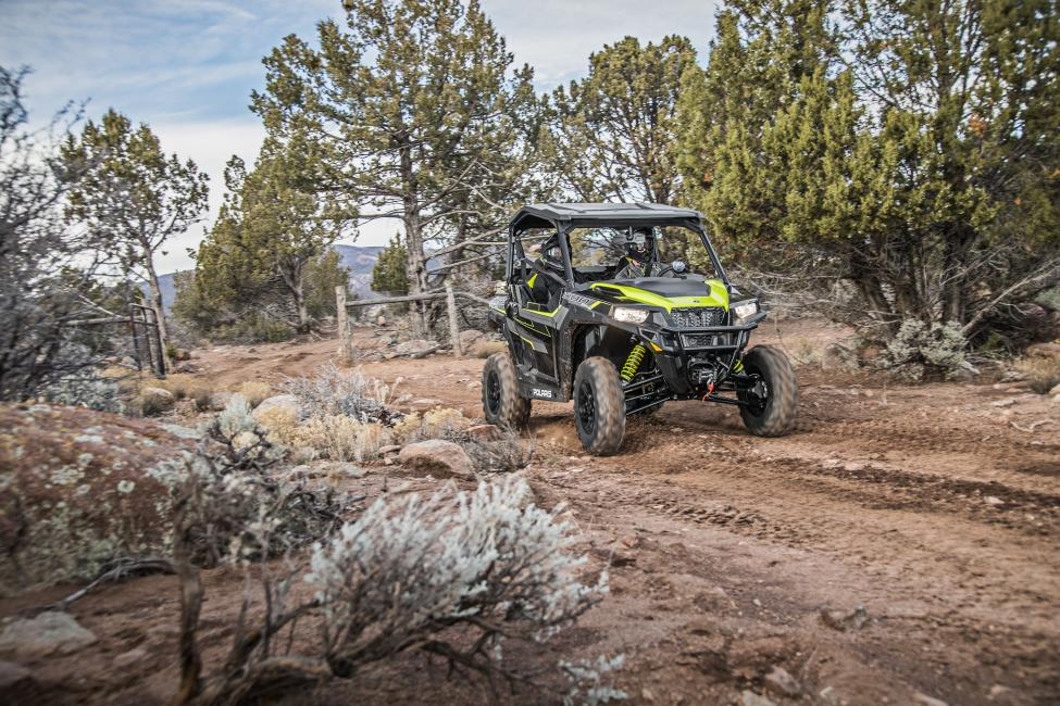 The Polaris General 1000 Eps Ride Command Edition Black Pearl Features The Ride Command 7