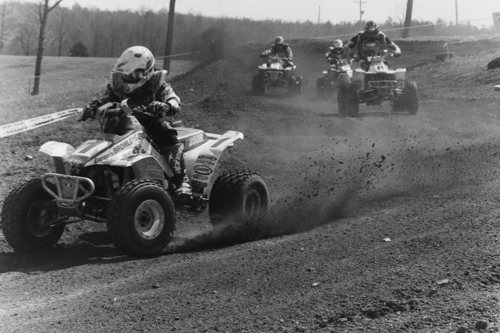 Here's another '97 photo with Barry Hawk leading the way at the Road Atlanta GNCC with Matt Smiley, William Yokley and Bill Ballance in tow.
