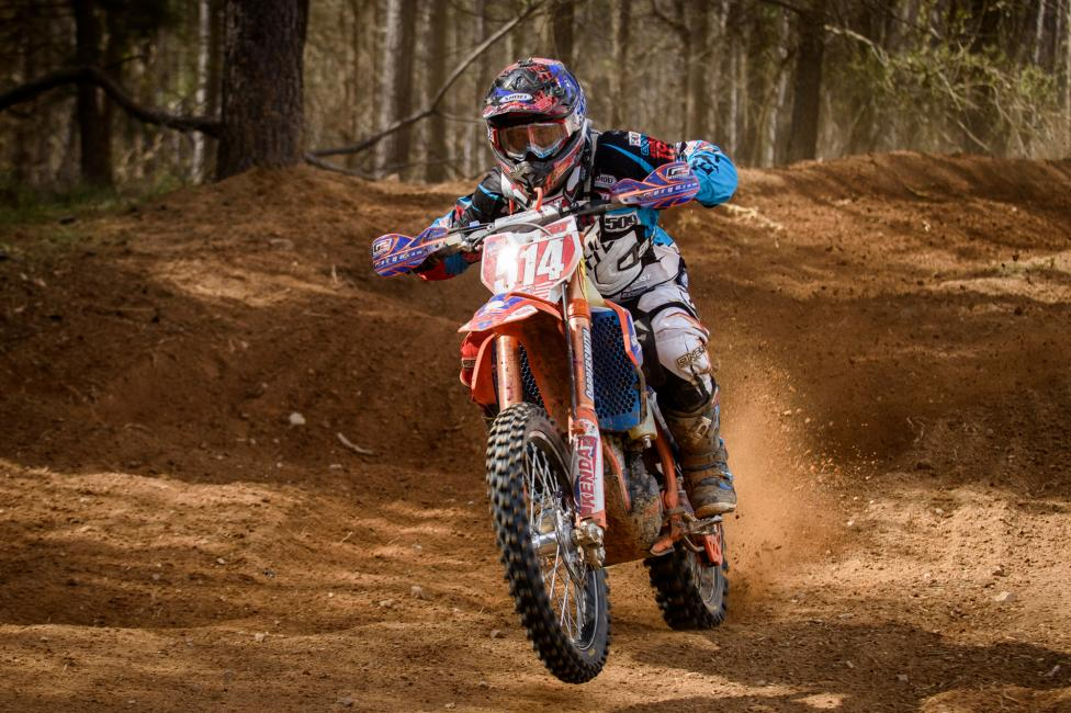 Steward Baylor came out swinging at round one, claiming his first-ever GNCC overall win!