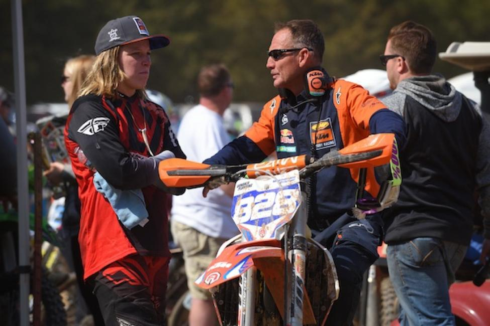 Mackenzie Tricker joins the Trail Jesters KTM Racing team.