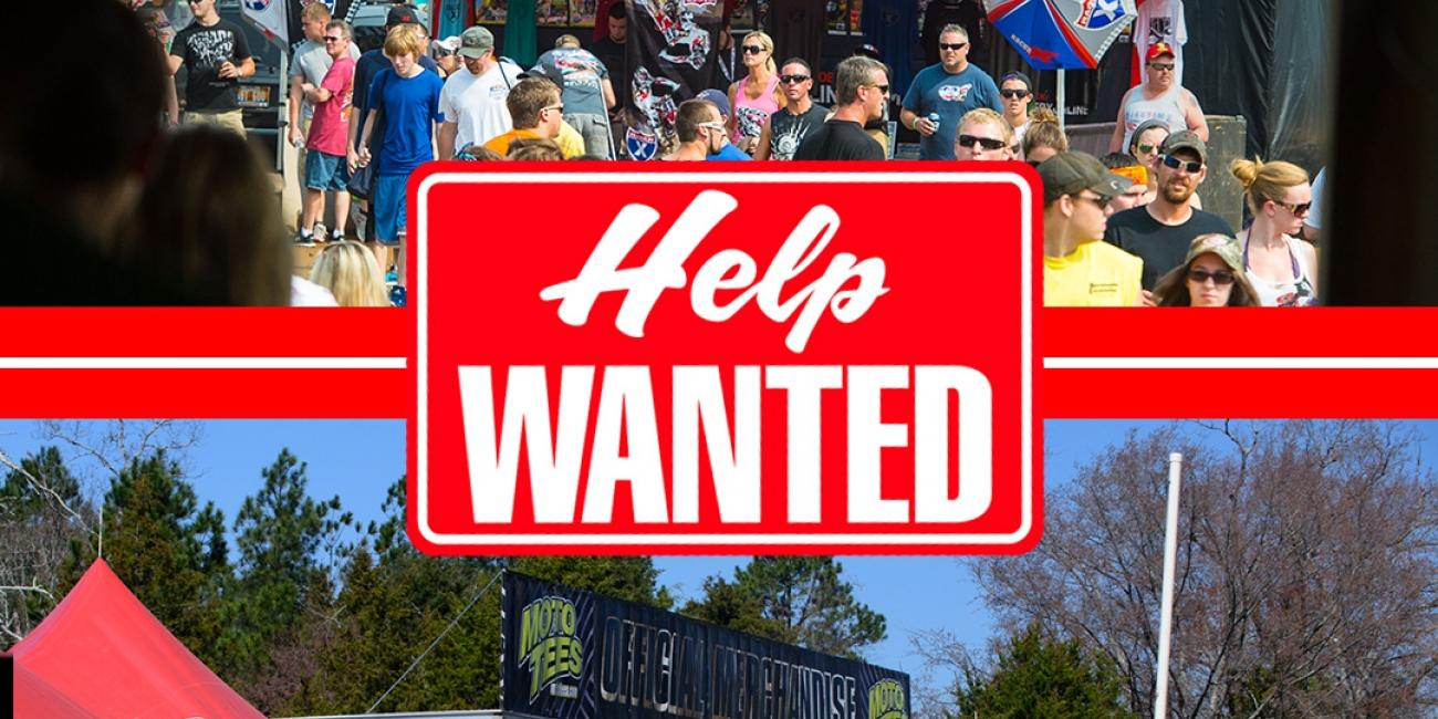 Racer X and Moto Tees Help Wanted at GNCC Races
